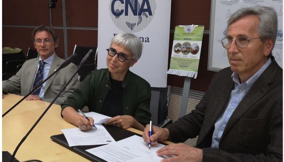 Sottoscrizione del protocollo d'intesa con la Fondazione Sant'Orsola